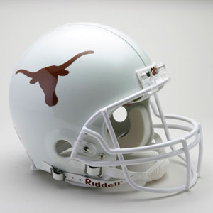 Texas Longhorns Authentic Riddell Proline Helmet